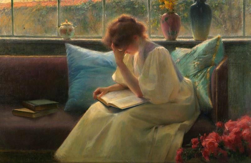 Thoughtfull Reader, Franz Dvorak